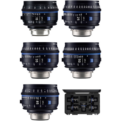 Zeiss Compact Prime/Super speed T1.5 Kit
